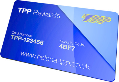 Join Helena's TPP Rewards Programme